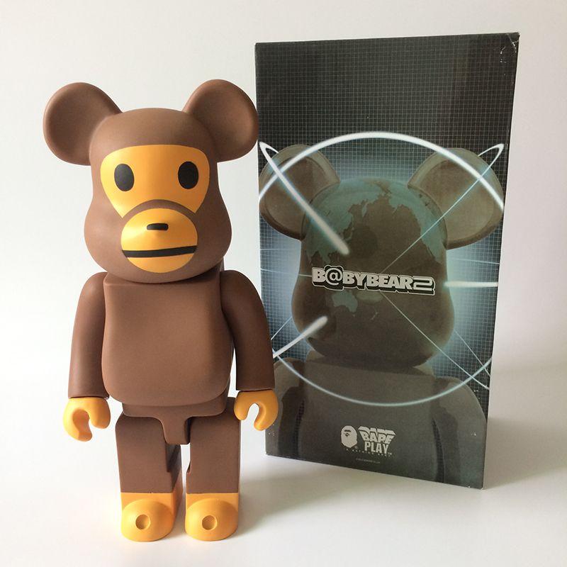 a4701831 400% bearbrick Bear@brick BABY MILO BAPE Replica Art Figure as a gift for  boyfriends ,girlfriends christmas gift