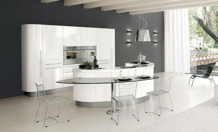 ▷ 1001 + modèles de la cuisine moderne pour vous inspirer MINHA - Modele De Cuisine Moderne Avec Ilot