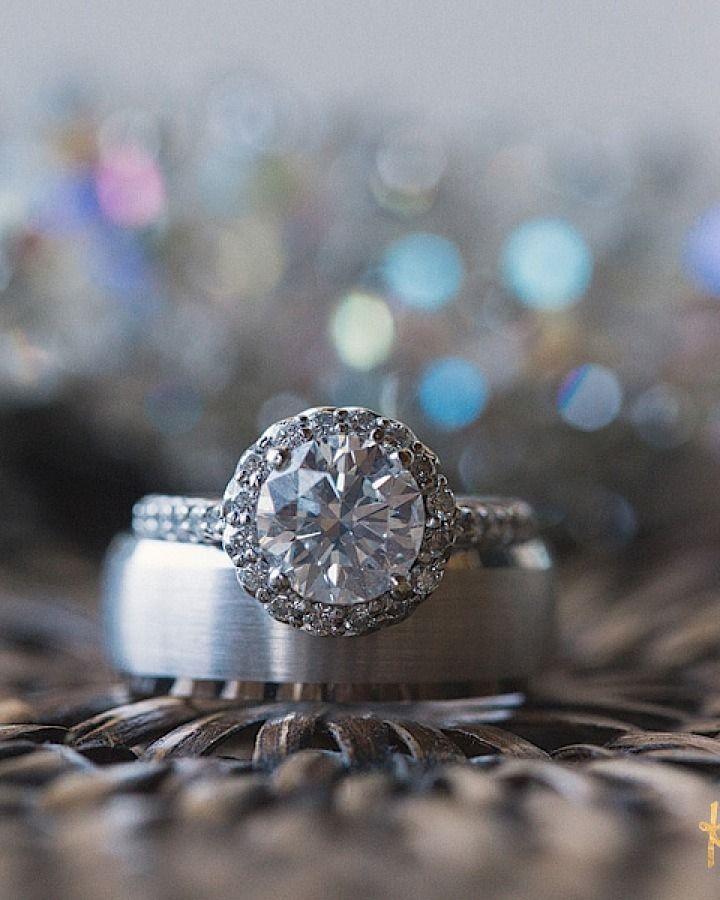 Engagement Rings Wedding Rings Charming Florida Wedding at