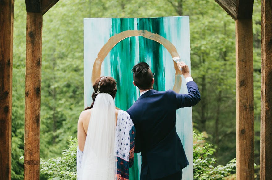 Get Creative For Your Wedding With One of These Symbolic Ceremony Ideas