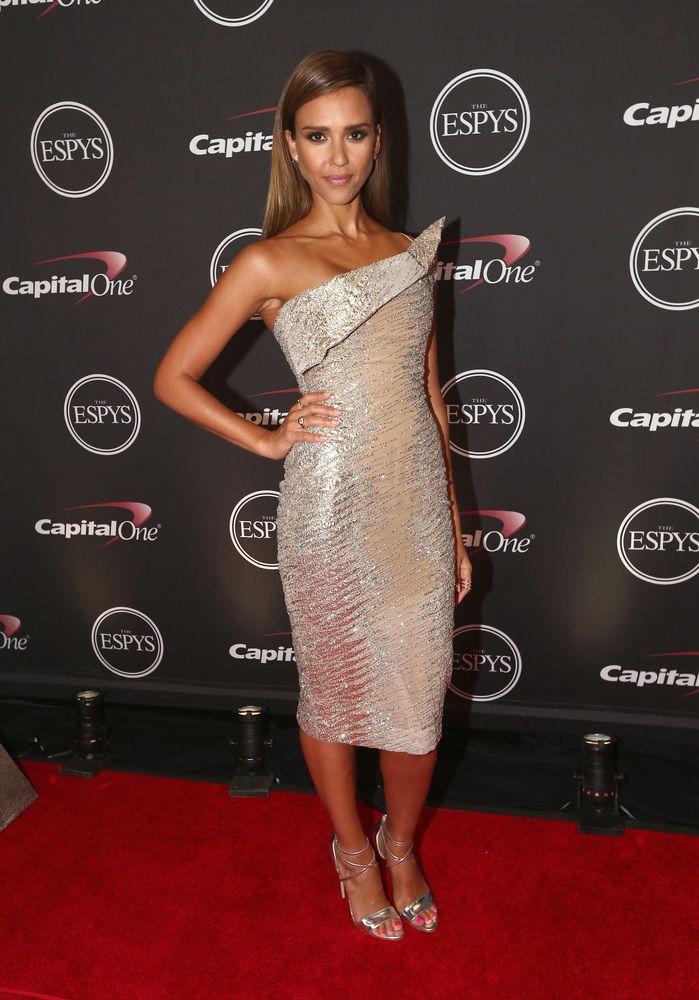Jessica Alba at the Sports Espy Awards 2014