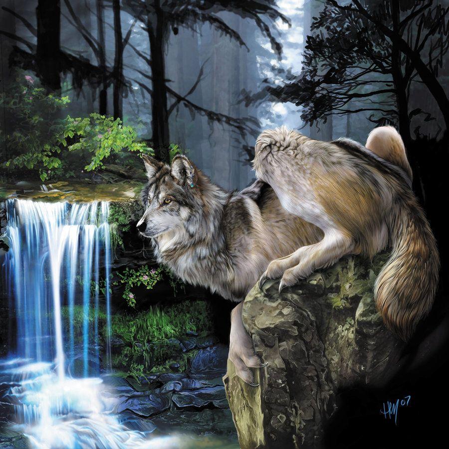Werewolf Calendar - March by Novawuff.deviantart.com on @DeviantArt