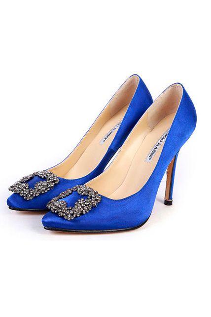 Manolos Bebek Manolo Blahnik Tacones De Moda Zapatos De Carrie Bradshaw