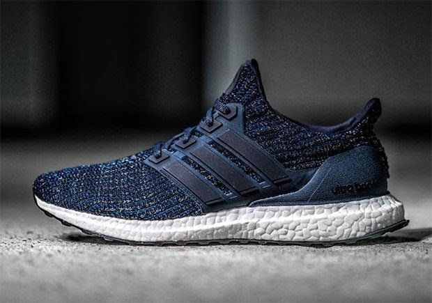 3bdd7ca5b The adidas Ultra Boost 4.0 Burgundy and Navy will release in December 2017  for  180 USD featuring updated Primeknit and new three stripe cages. More  here