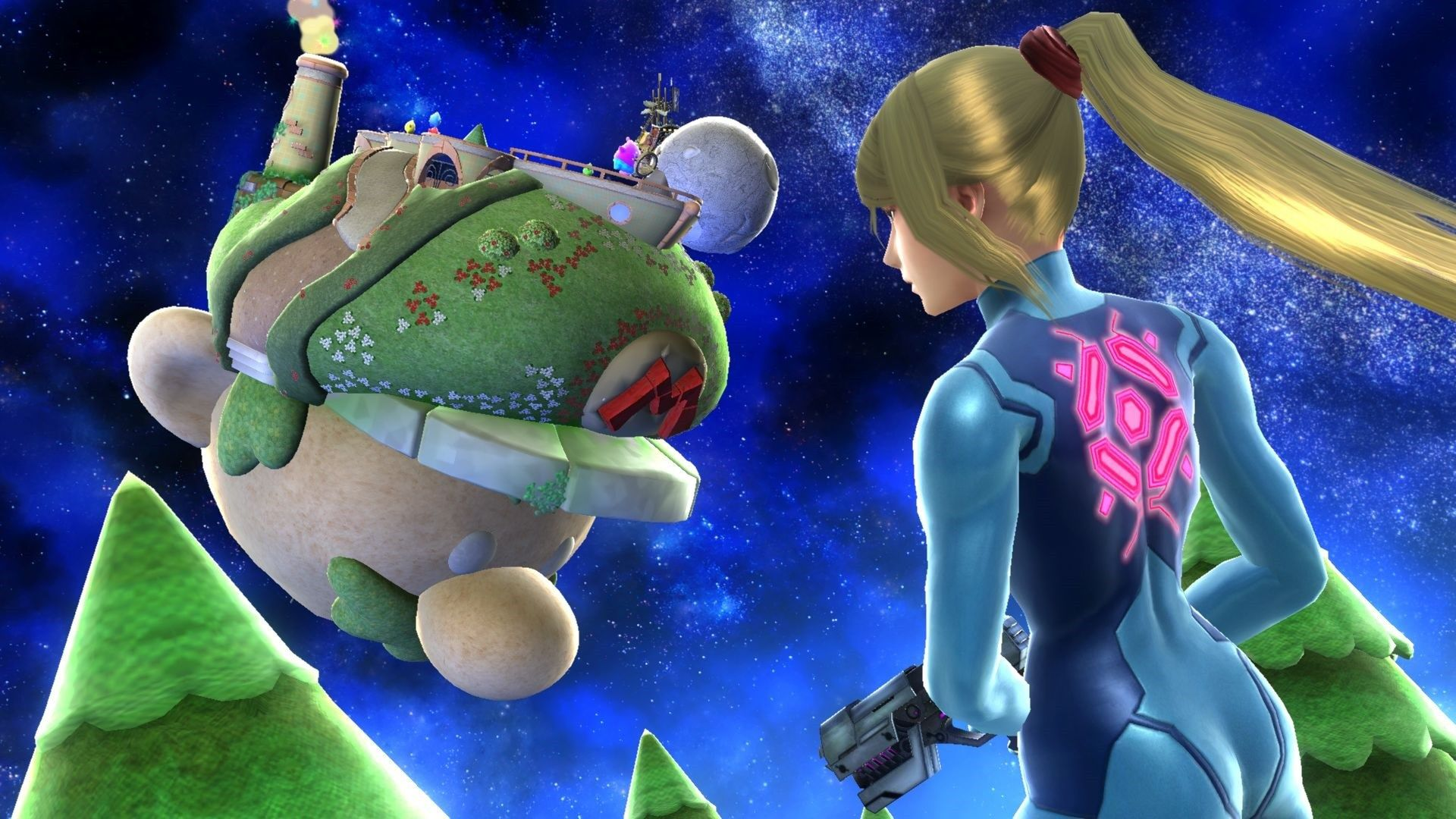 Smash Wii U 101 1 Jpg 1920 1080 Metroid Samus Zero Suit Samus Samus Aran