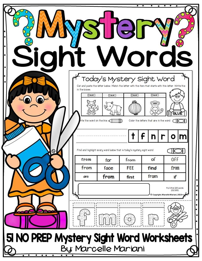 worksheet Spelling Word Practice Worksheets this pack offer 51 mystery sight word practice worksheets for kindergarten to grade 1 students these sheets require no prep and are