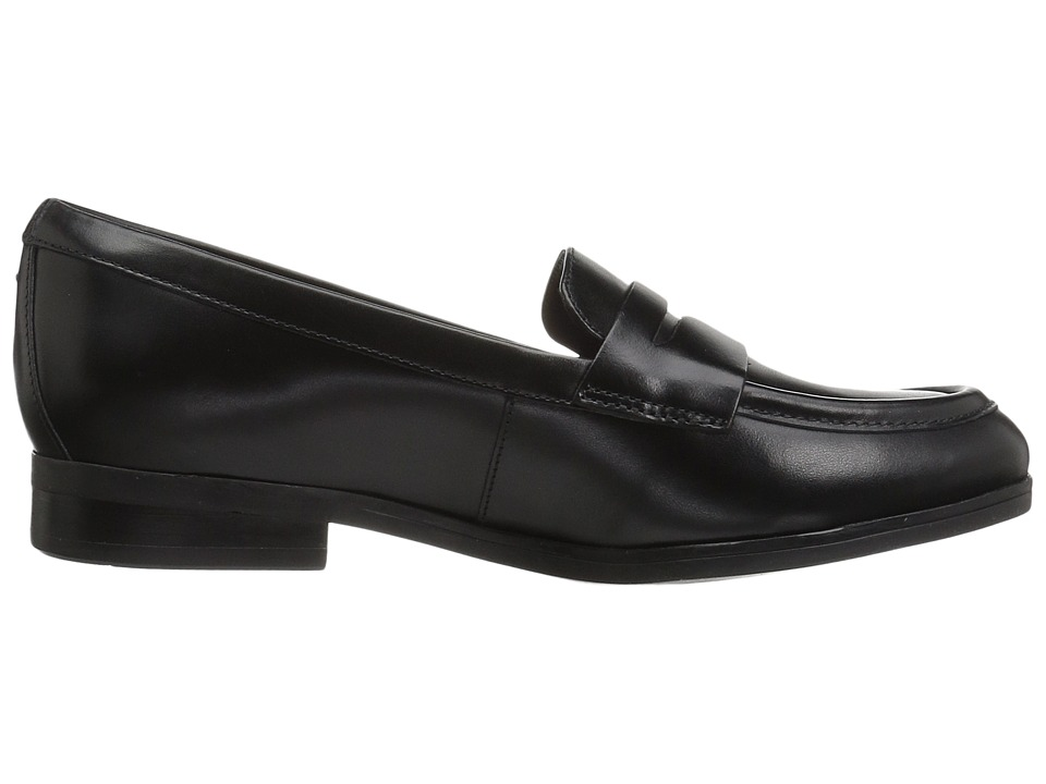 de7596cca40 Clarks Tilmont Zoe Women s Slip on Shoes Black Leather