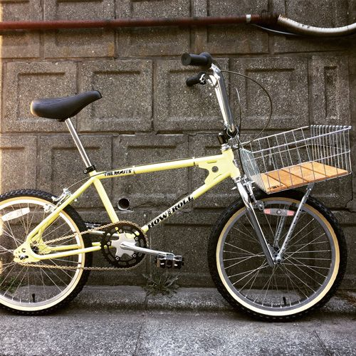HOW I ROLL / The Roots × WALD 139 BASKET WOOD / 20inch BMX - Above Bike Store Online