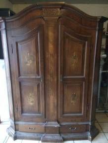 Armoire ancienne en bois | Salon RdC | Pinterest | Salons