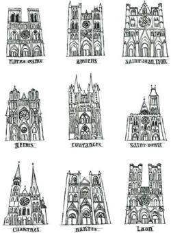 Art roman et art gothique cot arts visuels art for Art gothique