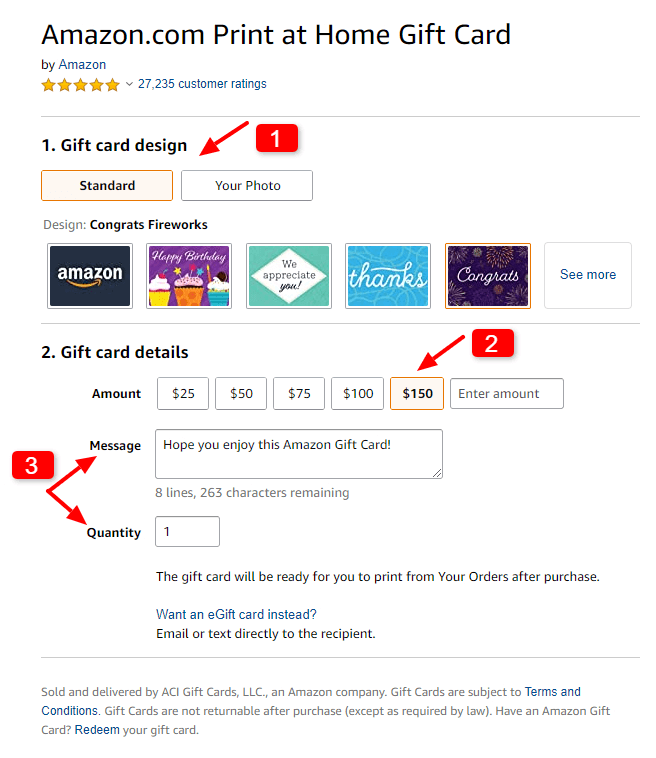 How To Send An Amazon Gift Card To Someone Else In 2020 Amazon Gift Cards Amazon Gifts Gift Card Design