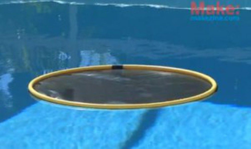 Diy Solar Pool Heater Grab A Dozen Hula Hoops Some Polyethylene Film And A Soldering Iron And