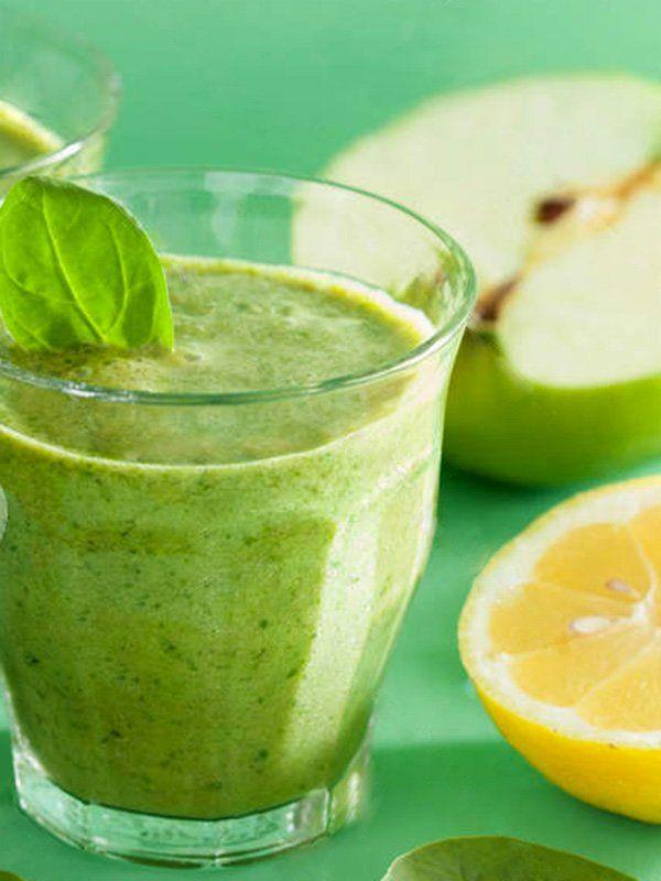 frullato verde per la perdita di pesona