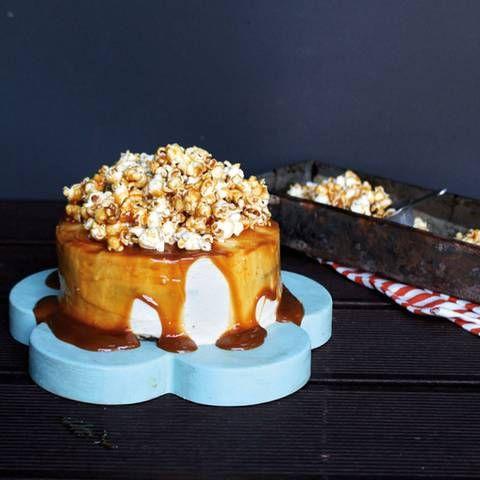 Brigitte Schokokuchen salted caramel popcorn torte rezept torten kuchen und backen