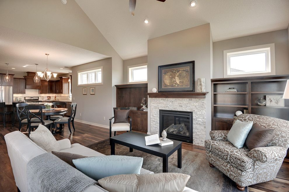 Best Sherwin Williams Amazing Gray For A Transitional Living 400 x 300