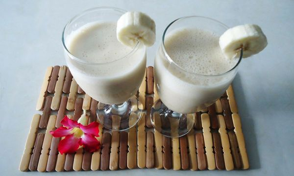Banana & oatmeal smoothie for a flat belly (RECIPE) -   25 flat belly oatmeal
