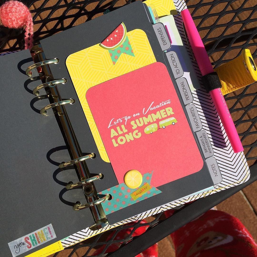 #planneraddict #planner #plannerjunkie #plannerlove #kikkik #kikkikplanner #summertime #planwithme #katespade #filofax by aplannerlovestory