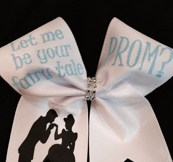 Prom Proposal Cheer Bow By HannahRoseCheerBows On Etsy