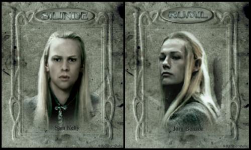 "Haldir, Gil-Galad, Nestadion, Gildor Inglorion, Glorfindel, Erestor, ""Figwit""-""Lindir"", Fereweldir, Silinde, Rumil, Golradir, Legandir(""Figwit"" is a fan-created name, acronym for ""Frodo is great, who's that?""..."