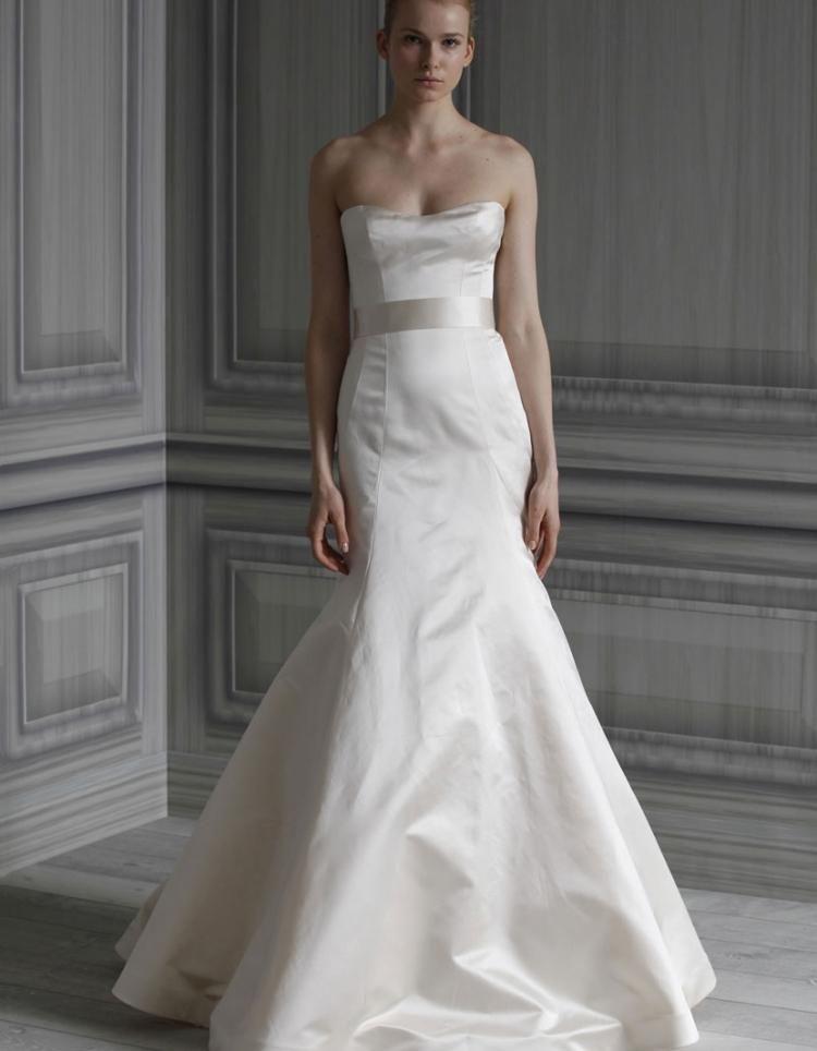 Bon Monique Lhuillier Stockists | Wedding Dress Designers | Ideal Bride Magazine