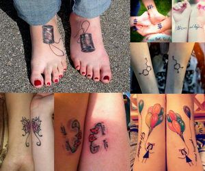 Best friend tattoo, also known as bff tattoo, is a popular and fun way to show off your awesome relationship with your best friend. There are many ways to symbolize friendship. Here we offer not only the traditional symbols of friendship, but also some unique and original best friend tattoo designs.