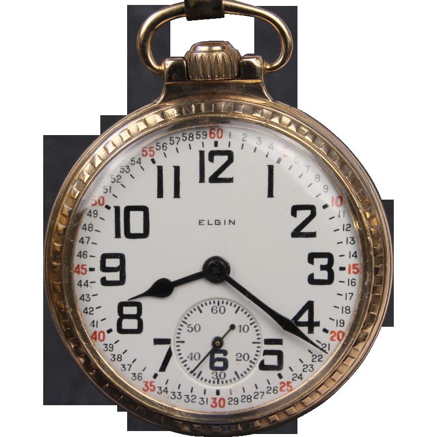 Ca 1924 Elgin B W Raymond 21 Jewel Railroad Grade Pocket Watch Pocket Watch Antique Vintage Watches Watches For Men