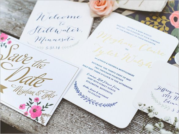 Wedding Invitation Template u2013 71+ Free Printable Word, PDF, PSD - download free wedding invitation templates for word