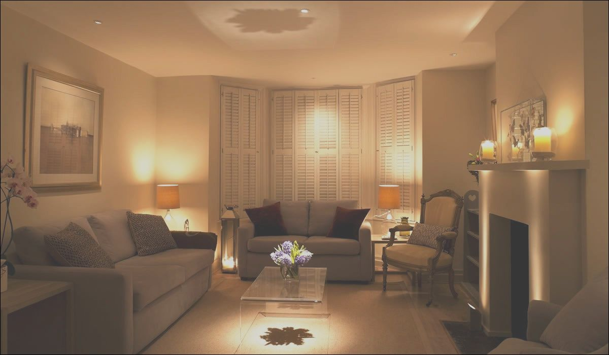8 Superb Apartment Living Room Lighting Ideas Photos In
