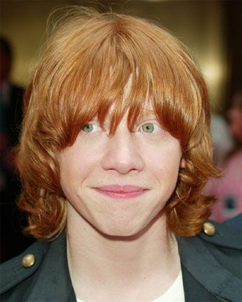 Ronald Weasly 3 Hp Rupert Grint Red Hair Medium Shaggy Hairstyles