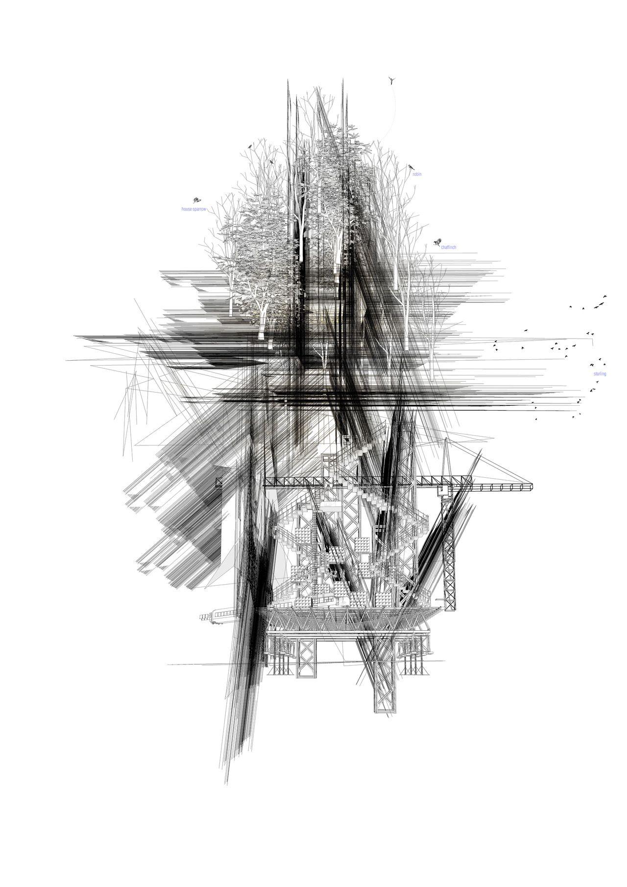 Untitled anoovab deka architektur pinterest architektur - Architektur skizzen zeichnen ...