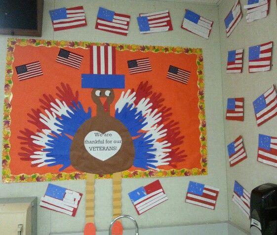 Veterans Day Bulletin Board