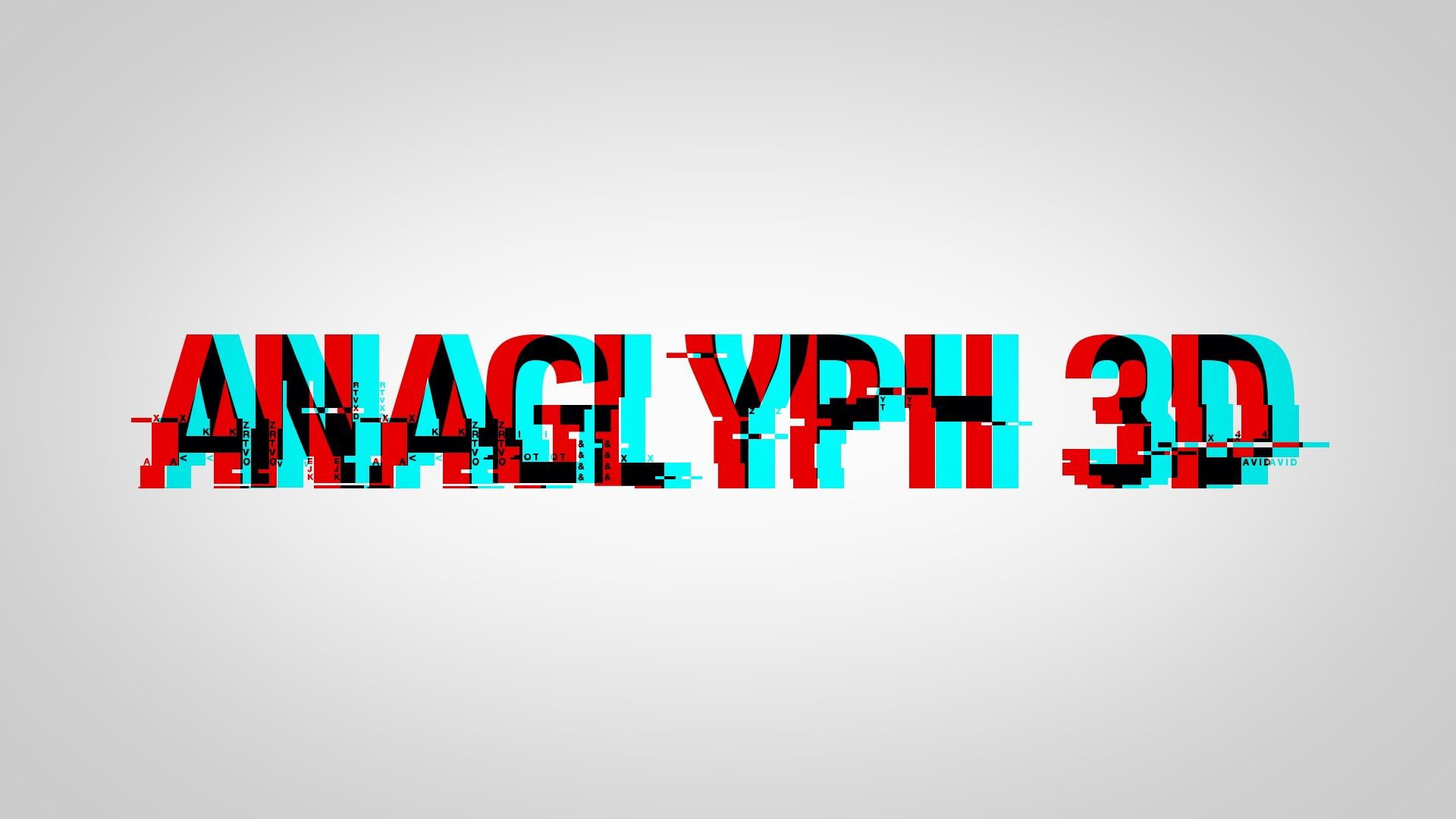 Simple And Quick Method Of Creating Anaglyph 3d Text Using Gimp Anaglyph 3d Is The Name Given To The Stereoscopic 3d Effect Achie 3d Text Texts Photoshop Text