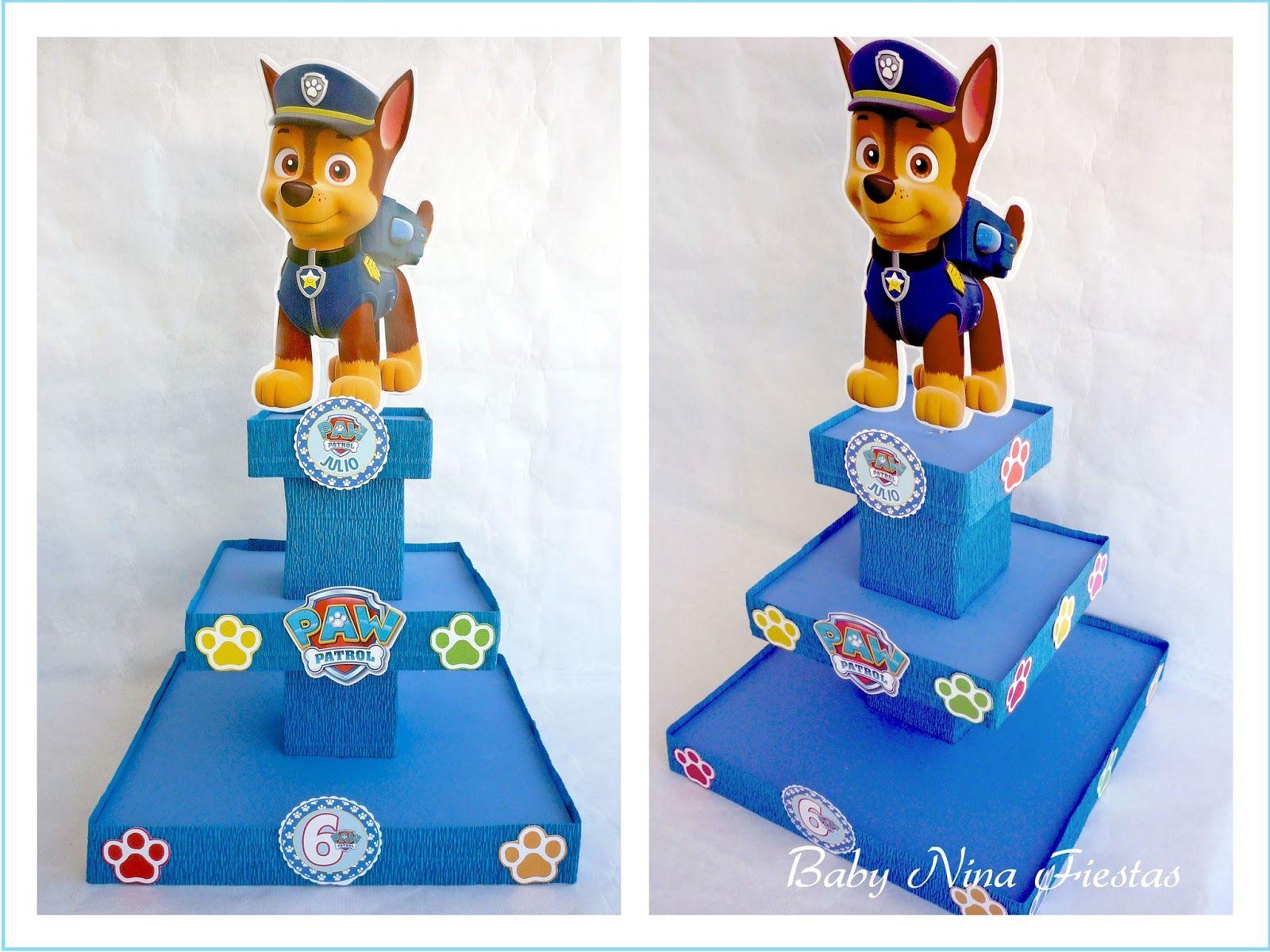 Kit cumplea os patrulla canina patrulla de cachorros - Manualidades patrulla canina ...