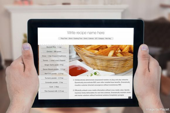 Cookbook Template For IBooks Author By Made By Mansi On Creative - Ebook cookbook template