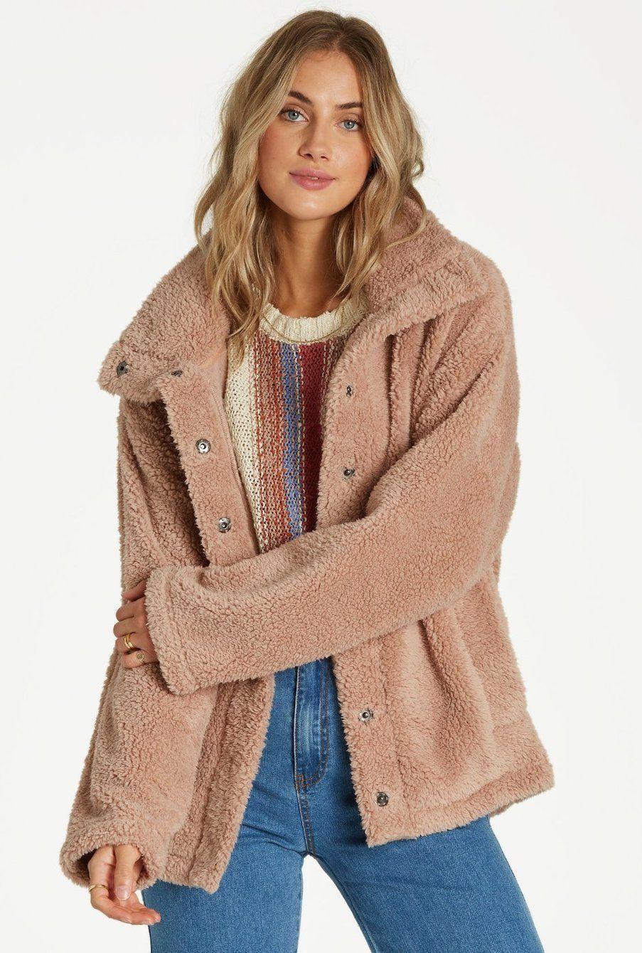 BILLABONG  Cozy Days Fleece Sherpa Jacket