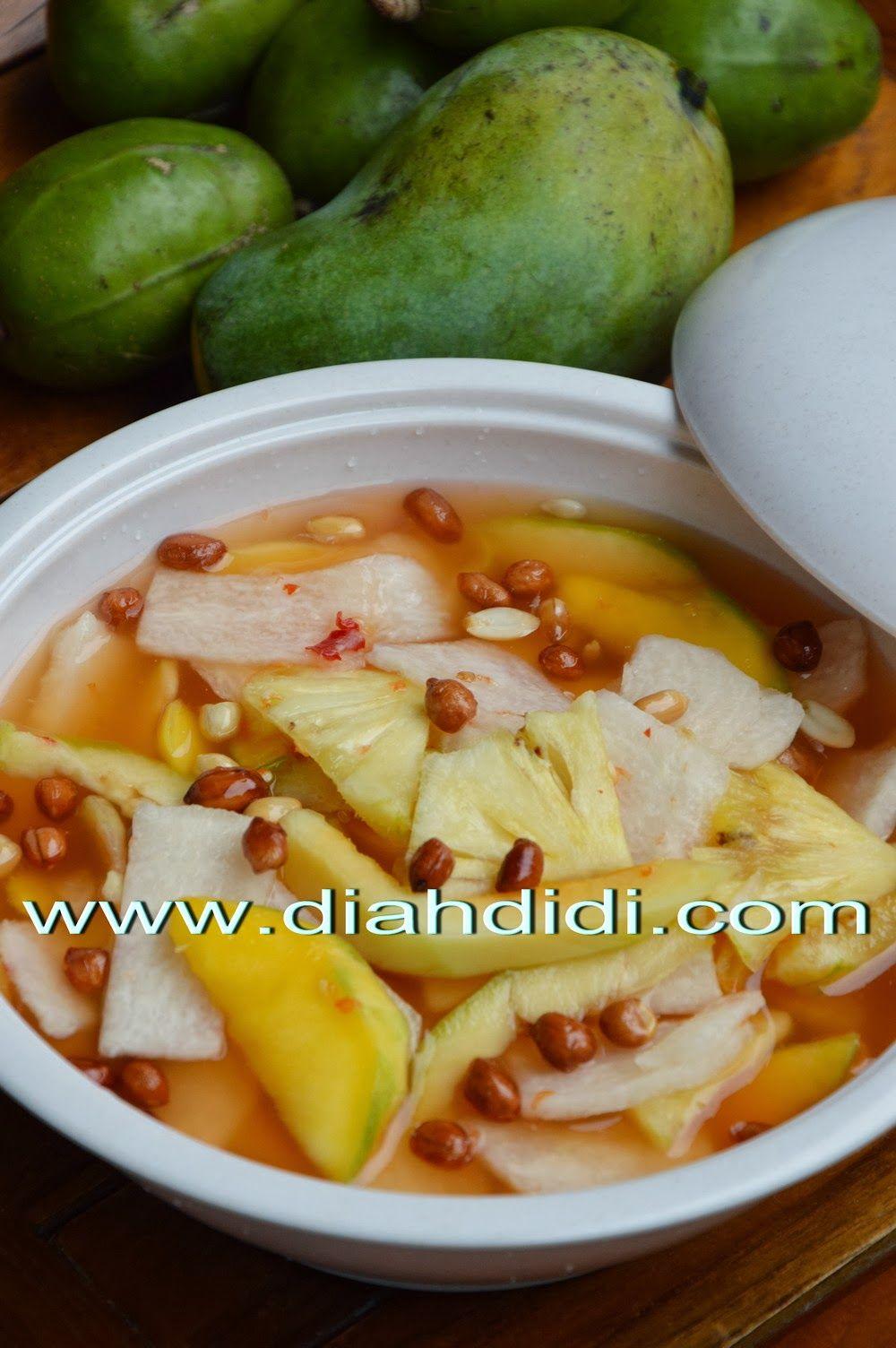 Resep Asinan Bogor : resep, asinan, bogor, Salads/Fruits