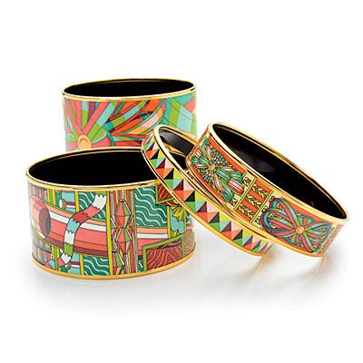 Enamel Bracelets These Are Truly Works Of Art