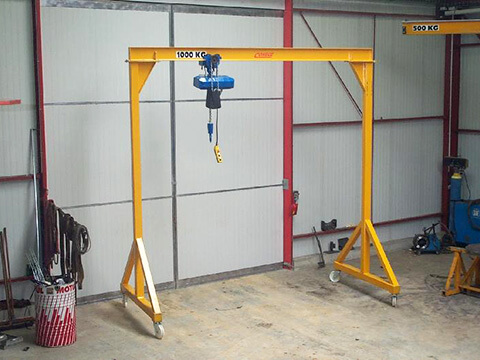 Industrial Overhead Crane For Sale Gantry Crane Garage Equipment Sheet Metal Fabrication