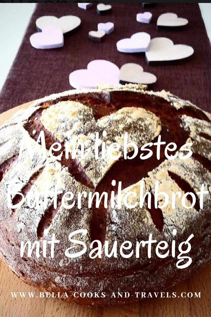 Photo of Recipe for my favorite buttermilk bread with #sourdough #brot #backen