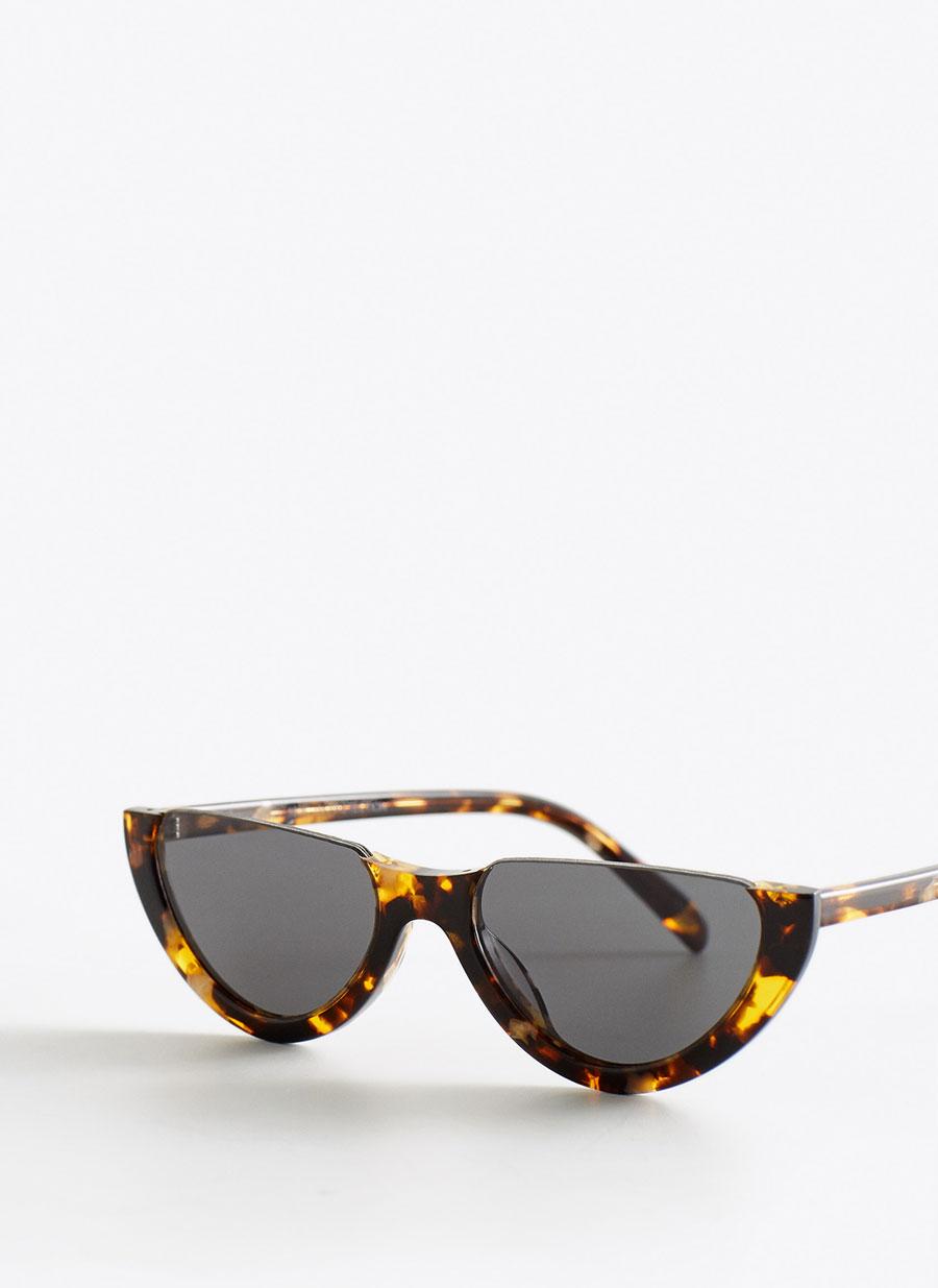 Gafa Carey Media Luna Ver Todo Accesorios Uterque Espana Rayban Wayfarer Square Sunglass Glasses