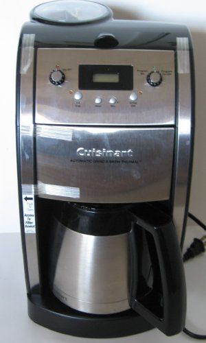 Cuisinart DCC590 Grind and Brew Thermal 10Cup Automatic Programmable