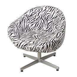 Zebra Pod Chair