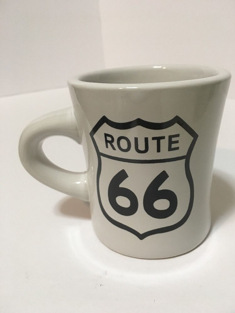Route 66 Coffee Tea Cocoa Cup Mug 4 Inches Tall Ebay