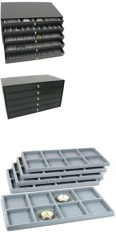 MultiPurpose 168165 5 Drawer Jewelry Organizer Storage Display