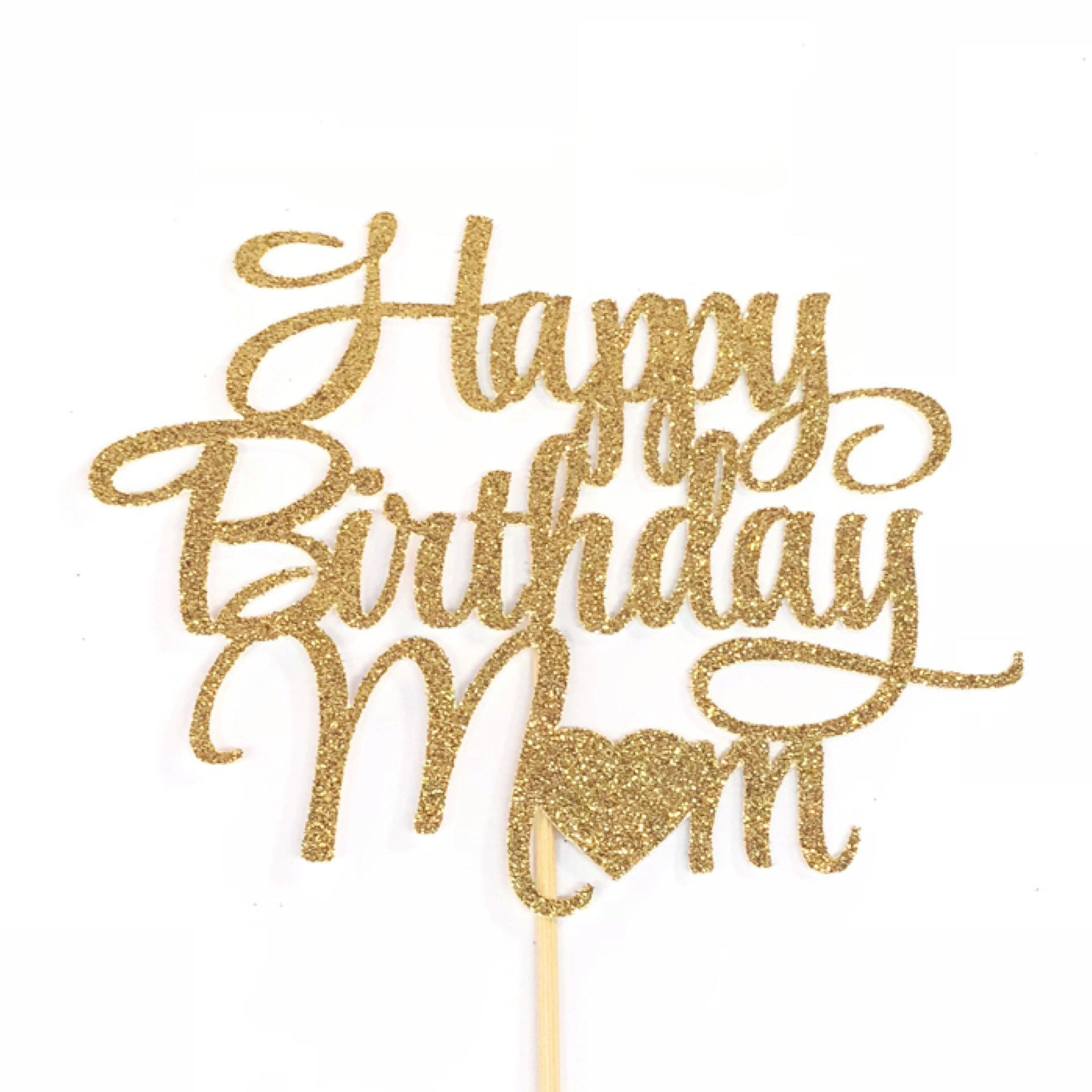 Free Happy Birthday Mom Cake Topper Mother S Birthday Cake Topper Mother Birthday Party Mom Birthday Cake Topper Mother S Day Cake Topper Happy Birthday Mom Cake Happy Birthday Mom Mom Birthday SVG, PNG, EPS DXF File