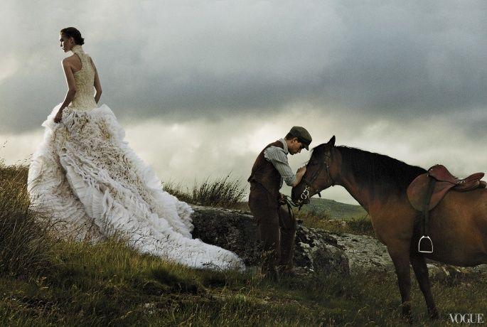 Horses By David Sims Vogue Magazine