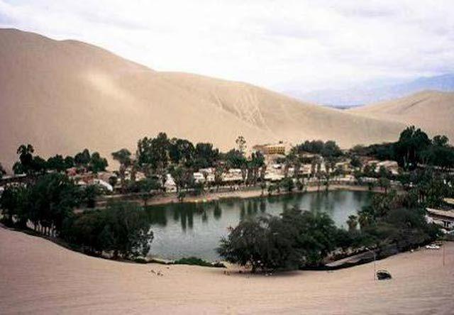 Atractivos turísticos en Ica: Laguna de Huacachina