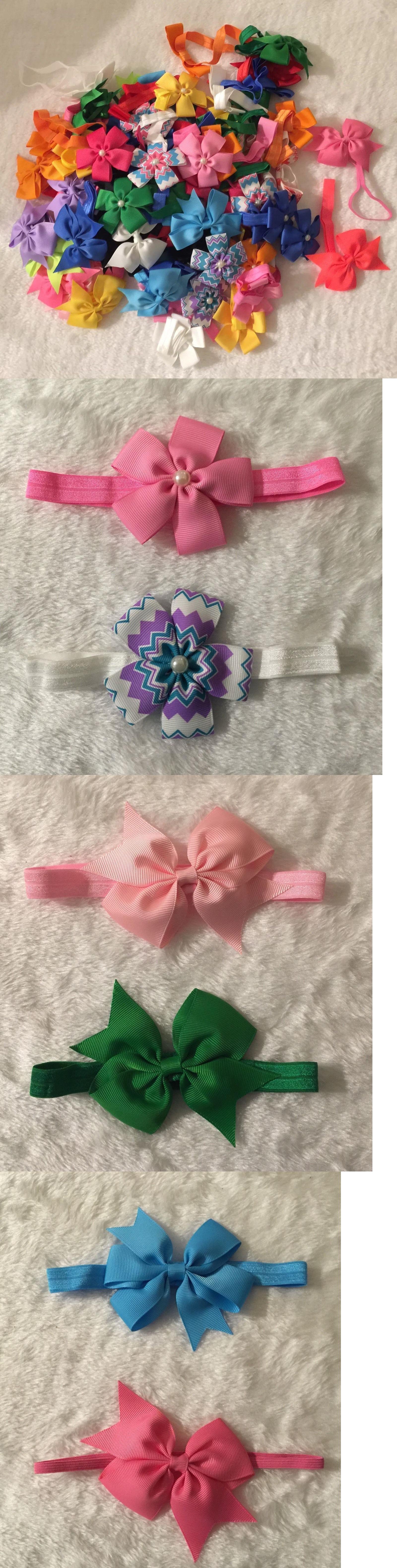 Hair accessories for babies ebay - Hair Accessories 18786 90 Pcs Grab Bag Headband Baby Infant Toddler Girls Hair Bow Headwear