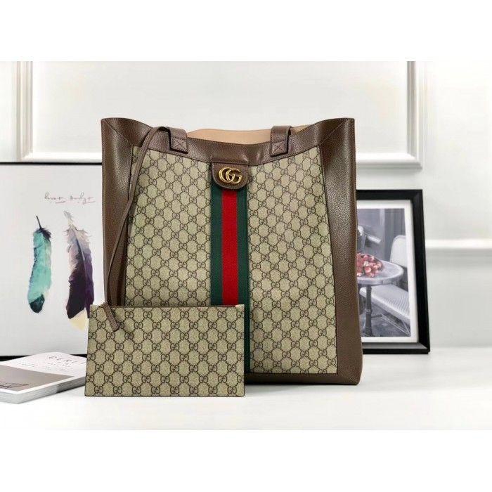 9ab36424faa 2019 的 Gucci Ophidia soft GG Supreme large tote 519335 主题