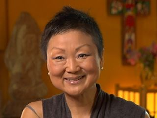 """""""I feel my Christian notion of God is love & my Buddhist notion of don't know become very close to each other. Very nicely weaving together."""" - Chung Hyun Kyung"""